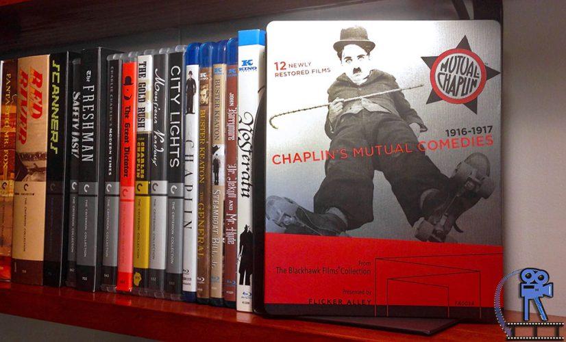 Chaplin's Mutual Comedies Steelbook - Unboxing