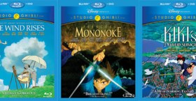 3 New Studio Ghibli Films Hit US on Blu-Ray Via Disney
