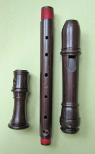 415 alto basic model in Indian Palissander on www.sorel-recorders.nl