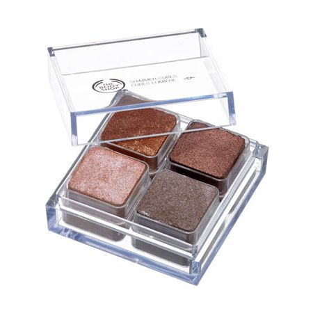 The Body Shop Shimmer Cubes Palette 06 - Swatch and Review
