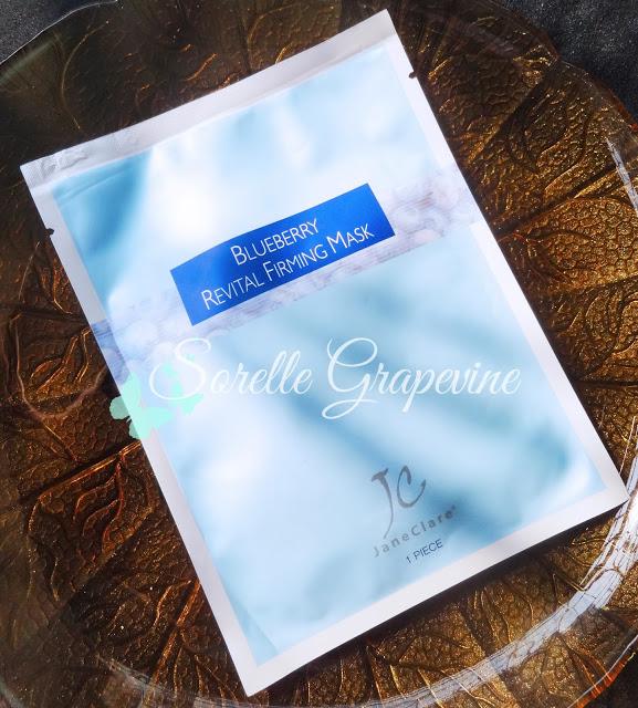 Sample Corner - Jane Clare Blueberry Revital Firming Mask
