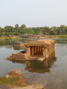 Near Chakratirtha, a sacred space for bathing