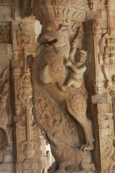Column in the Vittala Temple complex