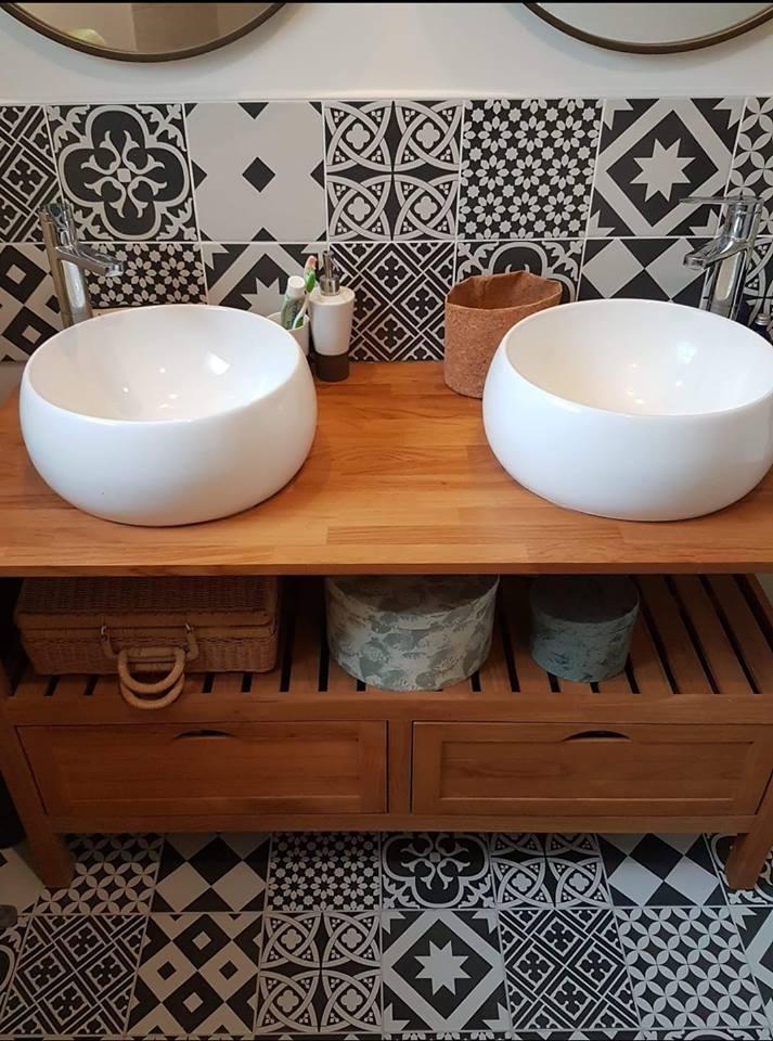 pose de carrelage salle de bain sols