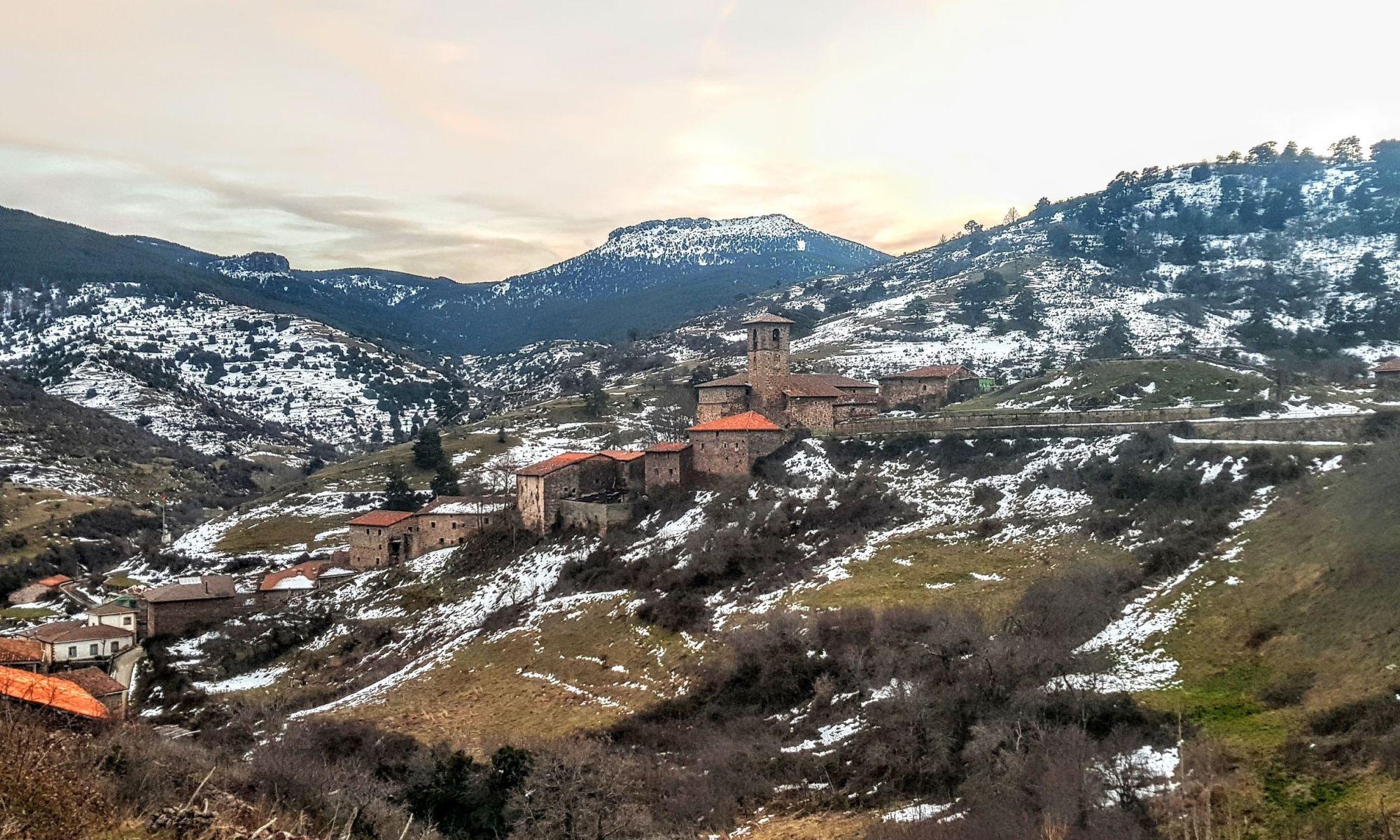 Panorámica de Montenegro de Cameros