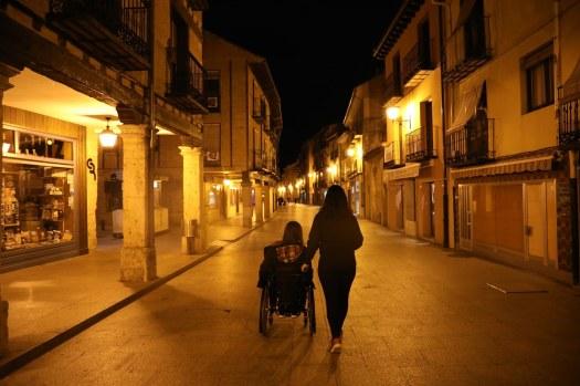 Calle Mayor el Burgo de Osma