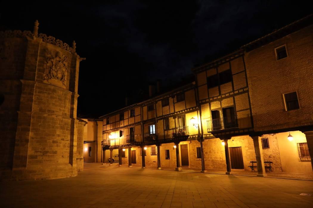 Calles porticadas El Burgo