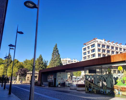 Oficina de Turismo en la ciudad de Soria