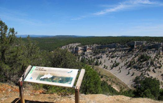 Miradores del Cañon del Río Lobos