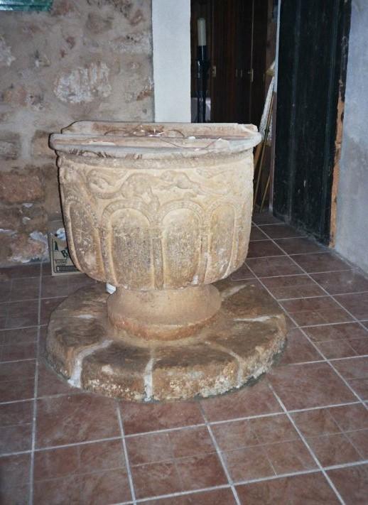 Pila bautismal de Zayuelas