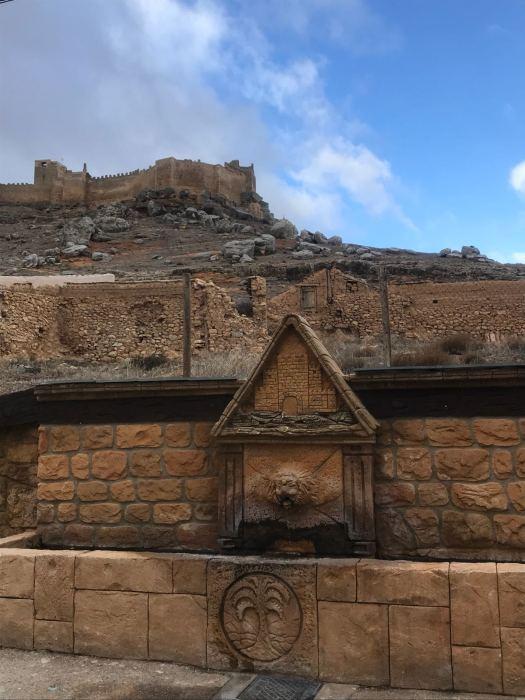 El castillo desde el pilón