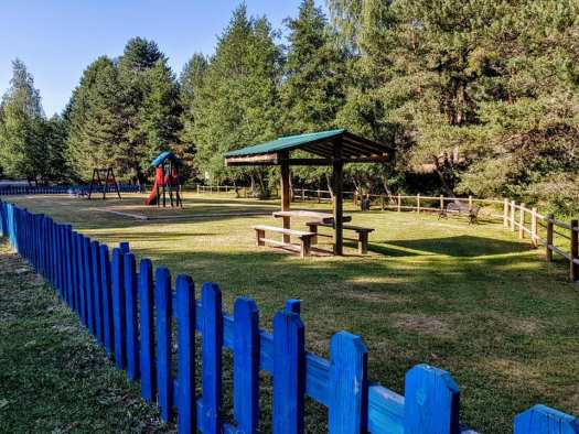 Área recreativa cercana a El Pontón