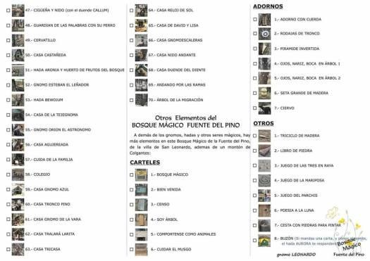 Censo del Bosque Mágico 1
