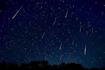 LLuvia de Estrellas Fugaces