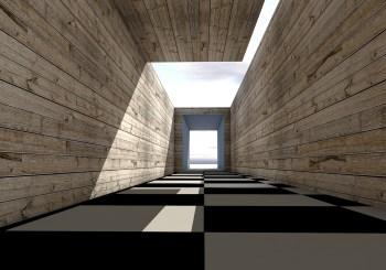Parquet rivestimento sulle pareti