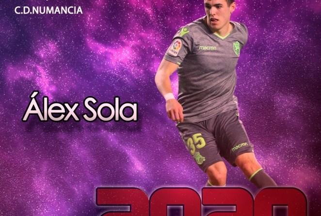 Álex Sola, nuevo lateral derecho del CD Numancia