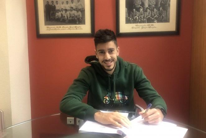 Dani Barrio renueva su contrato con el C. D. Numancia