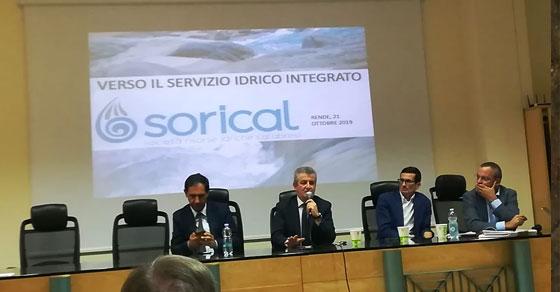 Servizio idrico integrato, partono 56 cantieri per 68 milioni di euro. Illustrato ai 36 Comuni della provincia di Cosenza 03