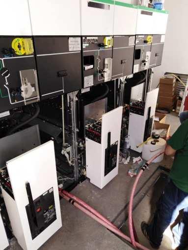Iniziati  i lavori a Santa Domenica, stop erogazione per Catanzaro Cabina elettrica Cz 383x510