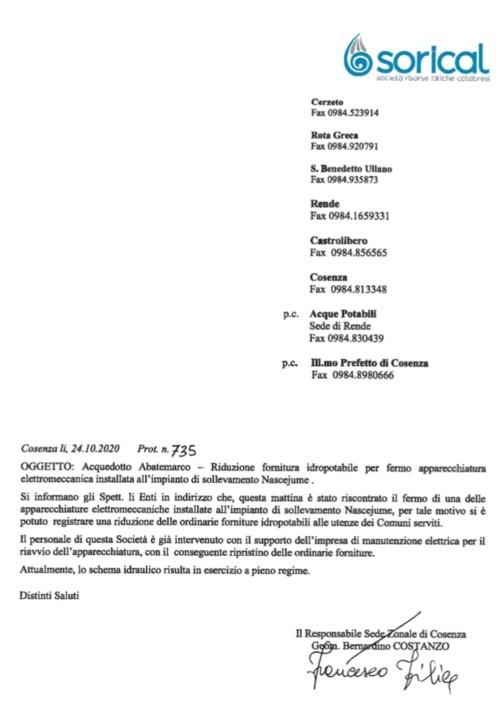 Fermo e riavvio dell'Abatemarco image 8