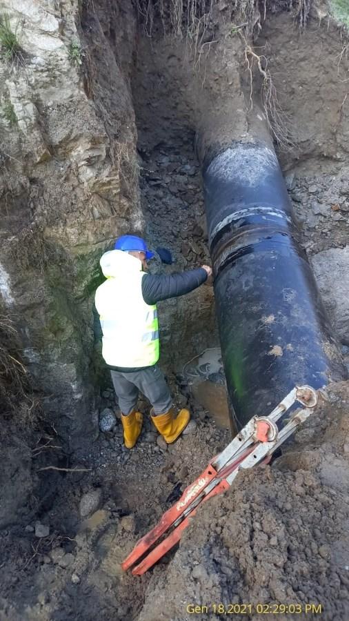 In corso riparazione della condotta Simeri-Passante b6d294a8 bdcb 4552 a428 89e96d8078b3