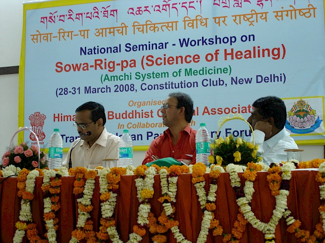Positioning Sowa Rigpa in India