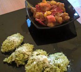 Aloo capsicum curry