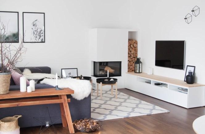 Wohnzimmer Skandi Style