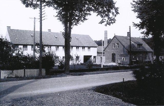 Billede af bygningerne på adressen Næstvedvej 31-33.