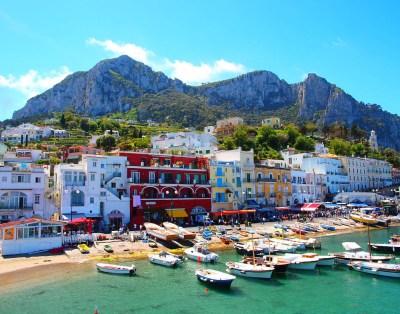 Capri island - Sorrento Host