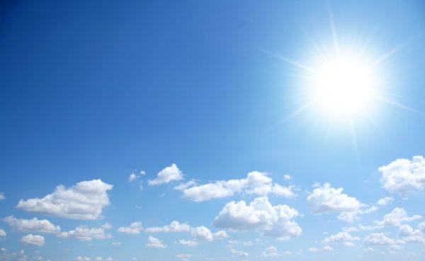 exposição ao sol