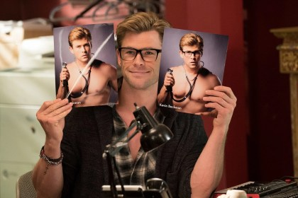 Chris Hemsworth busts ghosts
