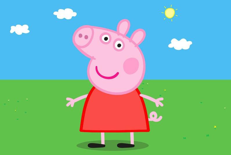 un showcase de peppa pig a la grande