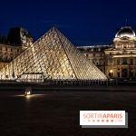 Visual Paris Louvre de noche