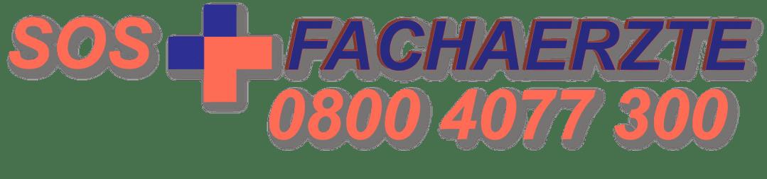 SOS Fachärzte Telefonnummer für den Notdienst,  gültig für das gesamte Rhein-Main-Gebiet