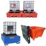 Vasche di contenimento per cisternette da 1000 litri