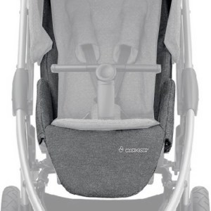Textile assise Stella sparkling grey