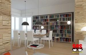 Render Soggiorno - Architetto Online