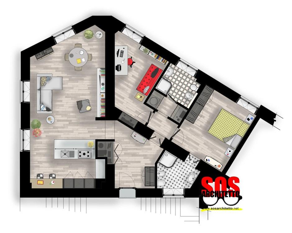 Appartamento Milano - Architetto Online