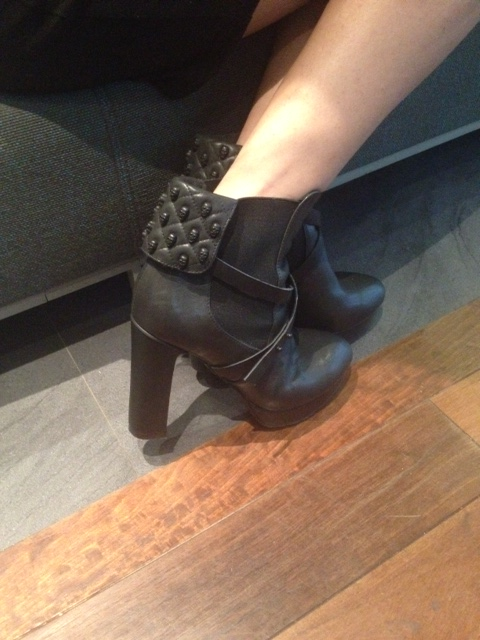 7a2f96a0d7b My absolute MUST-HAVES from the collection have to be the leather skull  ankle boots with quilted flap adorned with miniature skulls and the leather  and ...