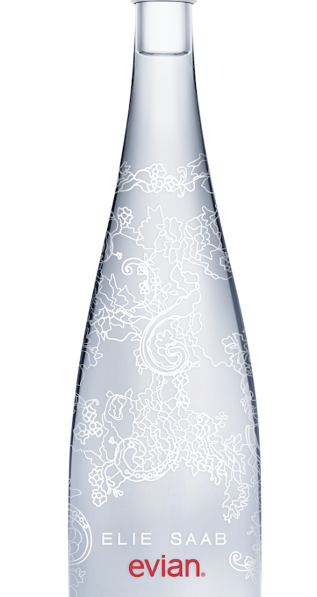 evian limited edition bottle