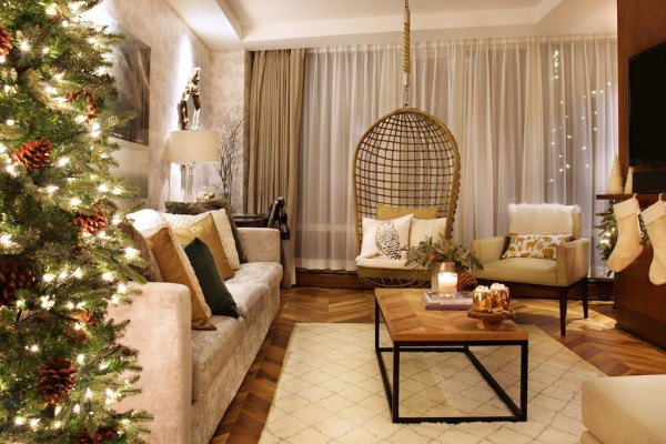 Winter Wonderland Suite Living Room