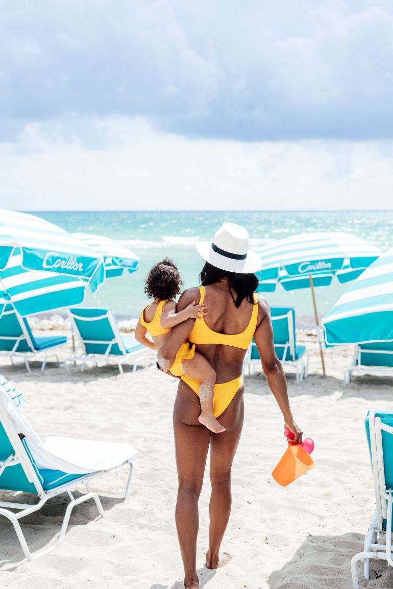Mommy + Me Swimwear