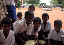 bambini scuola di Venkatrayapuram
