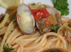 Spaghetti al Profumo di Mare e di Limone