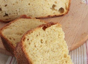 Pane di Semola Rimacinata e Farina con Melanzane arrostite