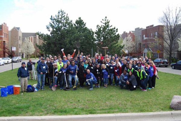 AMLI Spring Clean-up day