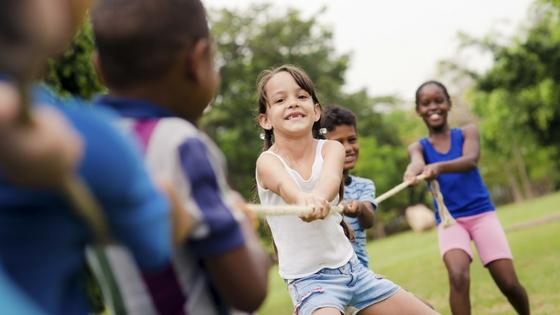 kids at summer camp
