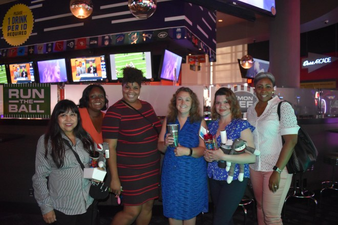 Members from our Case Management team celebrate their big win after an afternoon of fun competition