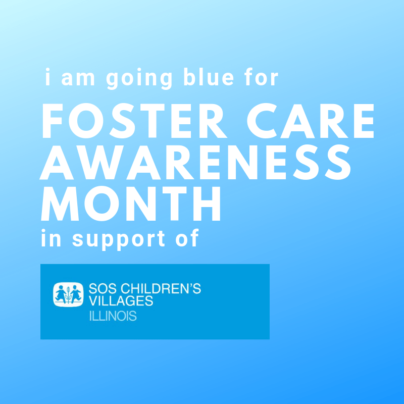 Blue for SOS Illinois Foster Care Profile Pic